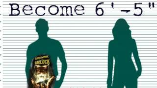 Become 6'-5' Tall at any age! Subliminal Subconscious Hypnosis Binaural Beat Meditation Frequency
