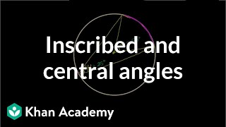 Inscribed Angle Theorem Proof | High School Geometry | High School Math | Khan Academy