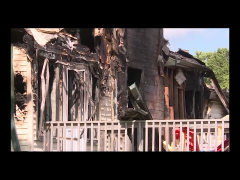State and local investigators are trying to determine the cause of a house fire that killed six people, including four children, in a small northern Wisconsin town (June 26)