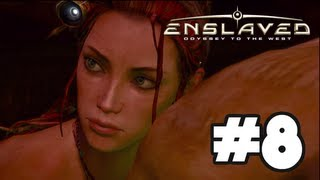 Enslaved Odyssey To The West - Gameplay Walkthrough Part 8 - Chapter 8: Gaining Access [HD] Xbox 360 PS3
