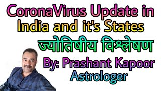 Corona Virus Update in India and its States
