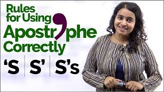 Apostrophe Rules   English Grammar Lesson To Improve Writings Skills   Punctuation Marks