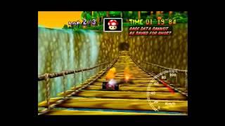 "MK64 - World Record on D.K.'s Jungle  Parkway - 2'11""93* (NTSC: 1'49""72) by Daniel Burbank"