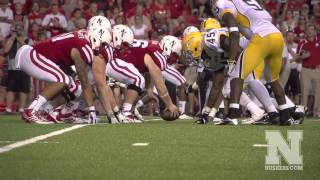 Nebraska Offensive Line Highlights - 2013 Season