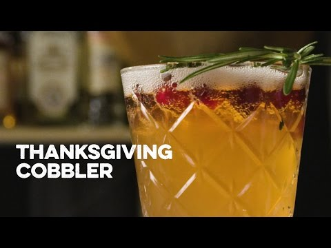 Video How to Drink: Thanksgiving Cobbler