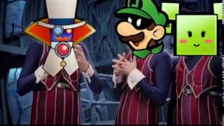 We Are Number One But It's Super Paper Mario