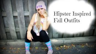 Hipster/Soft Grunge Inspired Fall Outfits