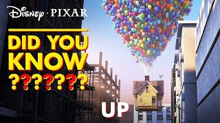 UP Easter Eggs & Fun Facts | Pixar Did You Know? by Disney•Pixar