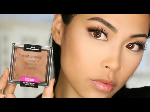 Wet N Wild ColorIcon Bronzer You're Dragon Me Down Quick Review & Contour Tutorial