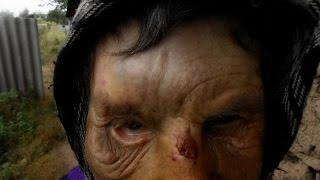 В Запорожской области милиция избила женщину бомжа