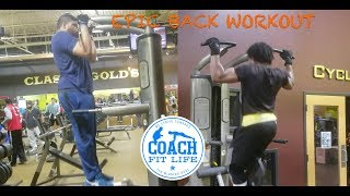 Epic Back Strength Training with Muscle Motivation!