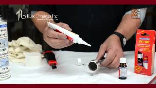 RK 1500 WEICON 2 Part Adhesive Demo Video