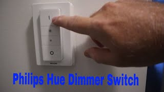 How to mount the Philips Hue Dimmer Switch over an existing light switch