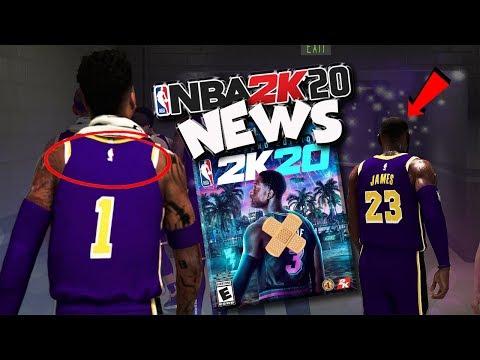 NBA 2K20 News #54 - NEW Patch, NAME on Jersey FIX, Buffs/Nerfs & More