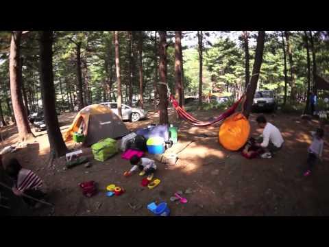 韓國這樣露:韓國的露營風