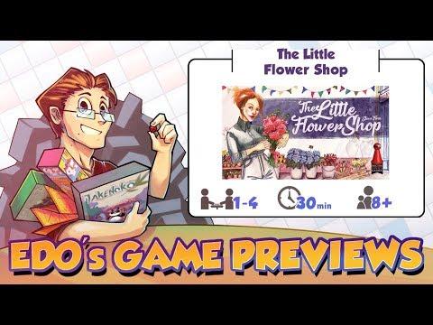 Edo's The Little Flower Shop Review (KS Preview)
