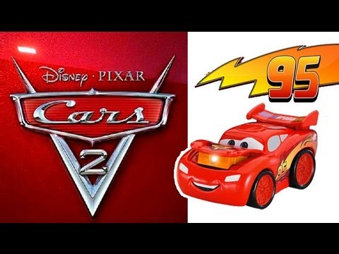FisherPrice Disney Pixar Cars 2 Lightning McQueen Light En Español