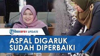 Anggota Dewan Aceh Tengah yang Garuk Aspal Akui Dapat Laporan dari Warga: Jalan 'Asal Jadi'