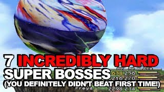 7 Incredibly Hard Super Bosses You Definitely Didn't Beat First Time Round