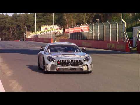 Mercedes-AMG AMG GT Four mule