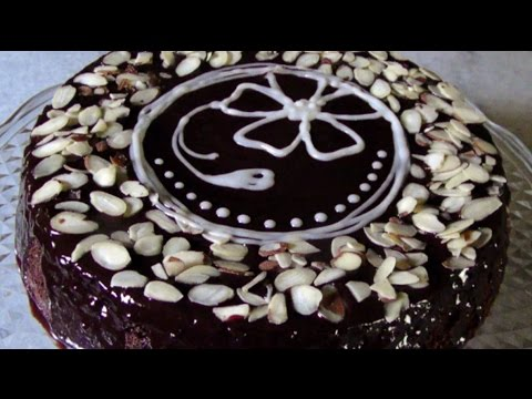 Video Gluten Free Chocolate Almond Cake