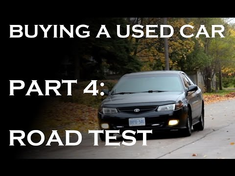 This Video Tells You What To Look Out For When Test Driving A Used Car