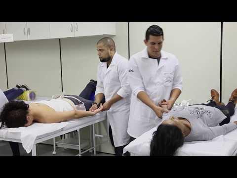 Massagem de ultra-som de próstata