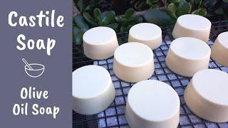 How To Make Castile Soap - Handmade Olive Oil Soap