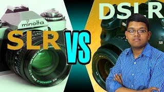 Differences Between DSLR And SLR Cameras ? SLR Vs DSLR - Difference (Hindi)