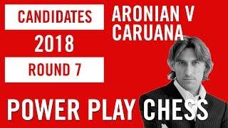 World Chess Candidates 2018 | Berlin | Round 7 - Aronian v Caruana