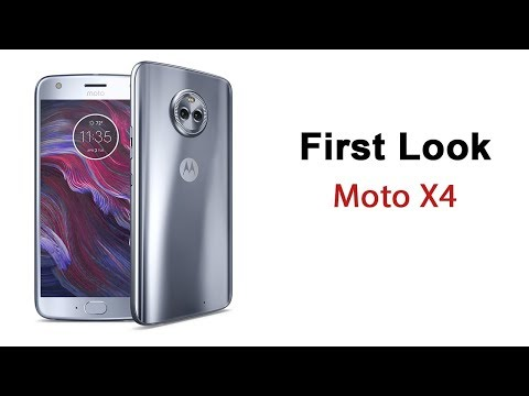 Moto X4 First Look