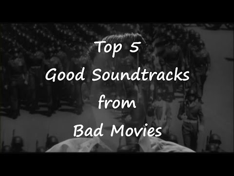 Top 5 Good Soundtracks to Bad Movies: Know the Score