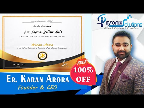 How Do I Get Six Sigma Yellow Belt Free Online Certification ...