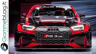 Audi RS3 LMS and Audi RS3 Sedan - The Beauty and The Beast !