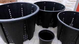 Gro Pro Premium Anti-Spiraling Round Pots