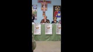 Presentazione Essenza d'Amore di Lucia De Cicco, Unitre Trebisacce, professore Leonardo La Polla