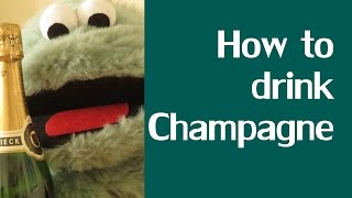 How to drink Champagne