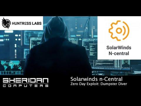 SolarWinds n-Central Exploit