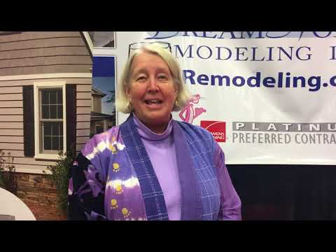 This homeowner loves her new energy efficient windows! She can't say enough about the friendly and efficient service the DreamHome Remodeling team provided her. Thank you to all of our customers!