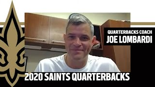 Joe Lomabrdi on Saints Quarterbacks for 2020 | New Orleans Saints