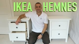 IKEA HEMNES Chest Of 2 Drawers Assembly