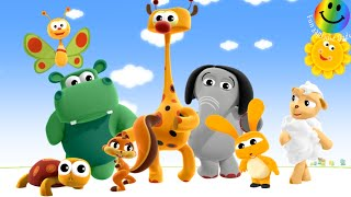 Colourful flash card !  First Words - by BabyTV