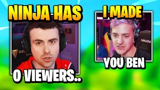 DrLupo ROASTS Ninja For Having 0 VIEWERS But Then THIS HAPPENS   Fortnite Daily Funny Moments Ep.463