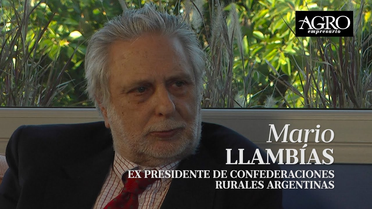 Mario Llambias - Quién es Quién en Comunicándonos en Diario Agroempresario