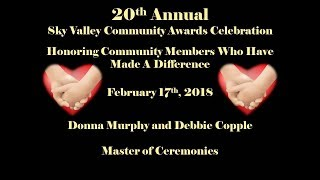 20th Annual Sky Valley Community Awards