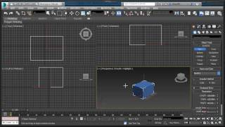 3ds Max Basics Tutorial - First steps for Beginners