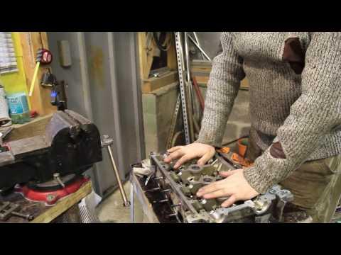 Ремонт двигателя K4J на Renault Symbol (2я часть)