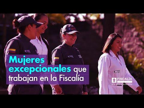 Mujeres excepcionales que trabajan en la Fiscalía