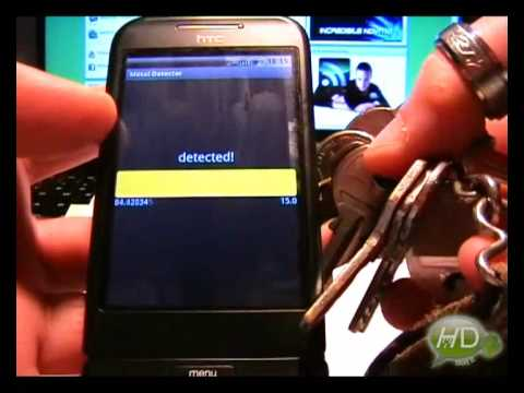 App Converts Android G1 Into Airport Security-Like Handheld Metal Detector