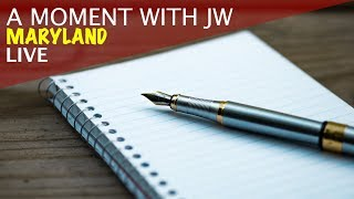 A Moment with JW - Maryland Live